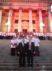 La Cámara de Diputados reconoció la tarea humanitaria de Cruz Roja Argentina.