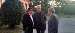 "Aníbal Fernández, sobre Julián Domínguez: ""Aparte de traidor, un idiota"""
