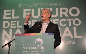 Acompañado por 3 mil referentes y dirigentes, Julián Domínguez lanzó el Grupo San Martín.
