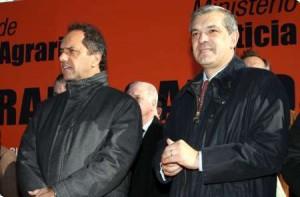 Domínguez y Scioli en San Andrés de Giles.