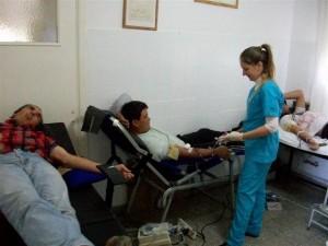 Jornada de donación de sangre en el Hospital Ángel Rossi-Catalina Zunino de Rossi.