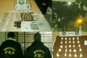 Un aprehendido por drogas en Chacabuco.
