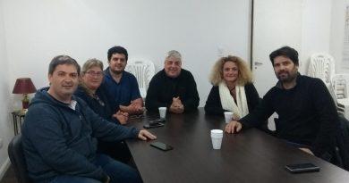 Reunión en el Comité de la UCR de Chacabuco