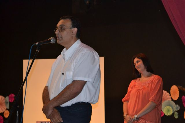 Dr. Claudio Ibarra, Director de la Escuela Secundaria de Rawson.