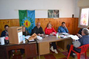 Elecciones en Rawson de consejeros de la Cooperativa Eléctrica de Chacabuco Ltda,