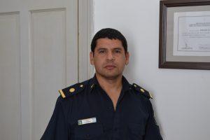 Sub Comisario, Elías Montiel.