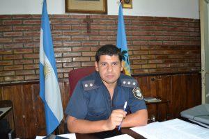 Subcomisario, Elías Montiel.