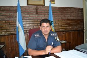 Oficial Principal, Elías Montiel.