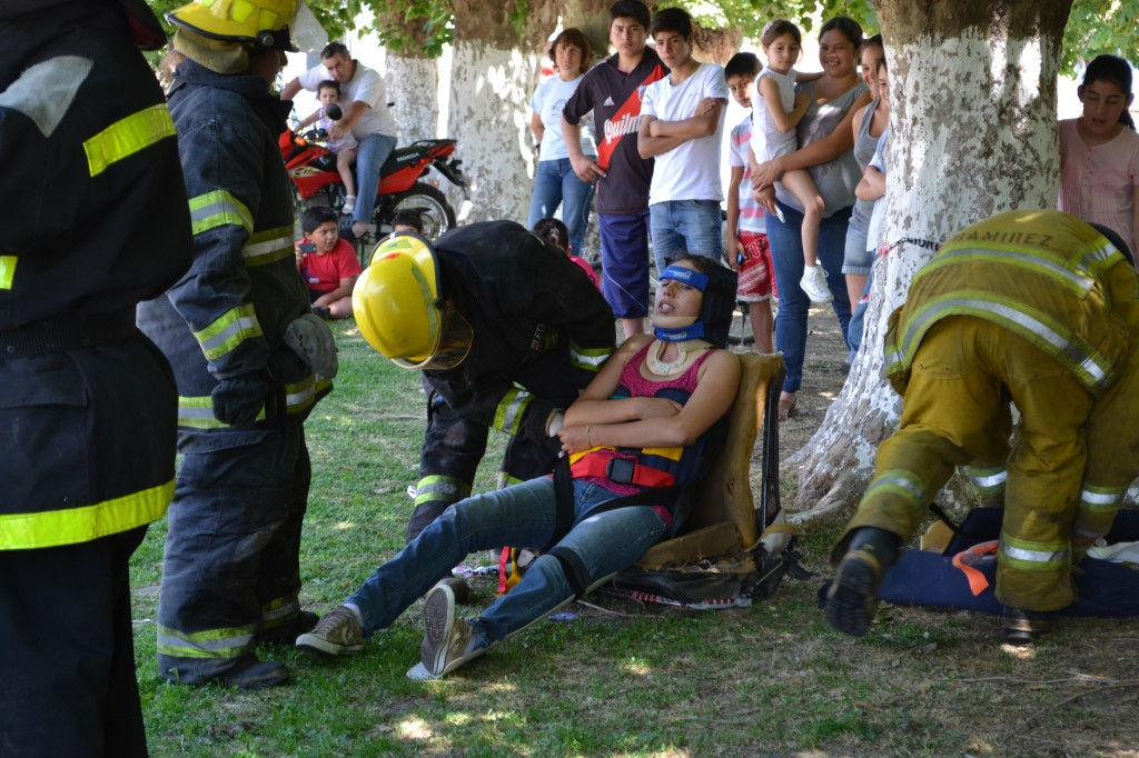 Víctima rescatada.