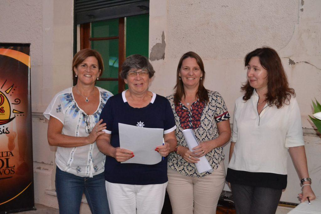 Fernanda Zanlungo, Teresita Stewart, Carolina Pinar y María Sosa.