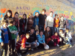 Tercera Jornada de las actividades del Programa Envión en Chacabuco.