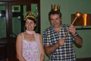 Yesica Martínez y Aimará Papini, los nuevos reyes de los escorpianos.
