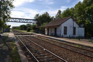 Estación Ferrocarril Rawson.