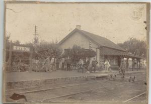 Estación Ferrocarril Gral. San Martín de Rawson.