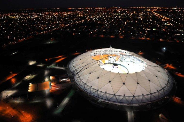 Estadio Unico Ciudad de La Plata.