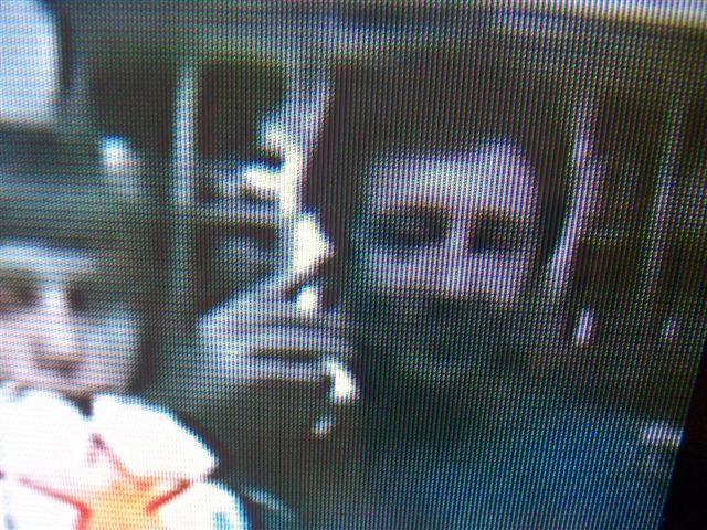 Luciano y Ezequiel en la pantalla de NTN 24, canal de Colombia.