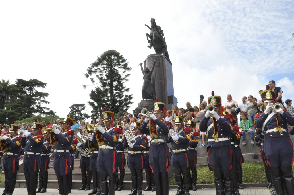"""""""Fanfarria Alto Perú"""" en Chacabuco."""