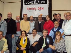 Encuentro de Concejales del GEN en el FAP.