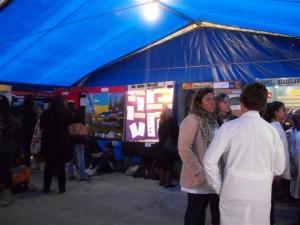 Una imagen de la Feria Regional de Ciencia y Tecnología en Lincoln.