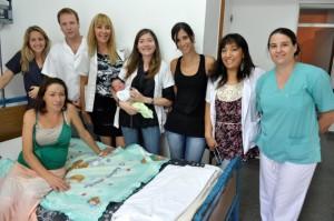 Los recién nacidos se llaman Nazareno Leonardo y Milagros Ludmila Gómez.
