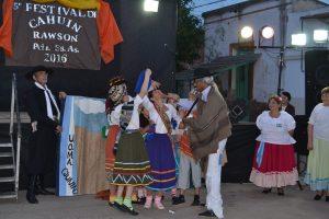 "5º festival de ""Cahuin"" en Rawson"