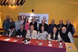 Presentación del festival solidario.