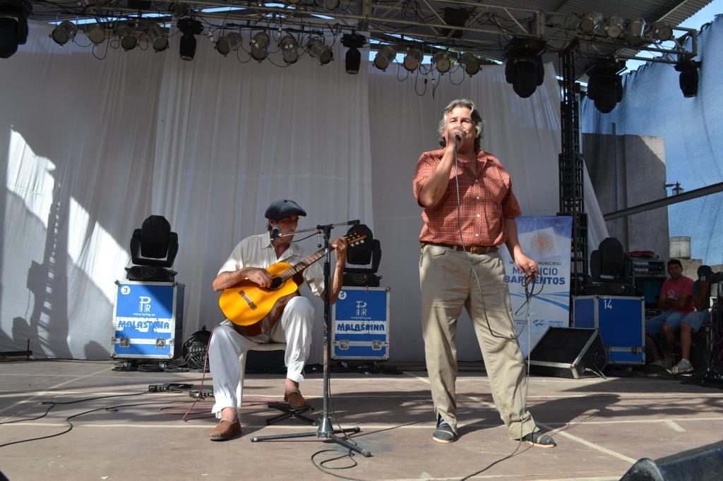 Antonio Bert y Taty Burgos.
