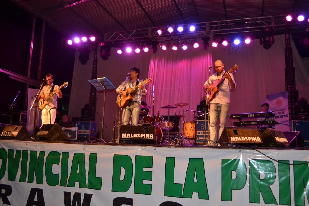 """El show de """"Los Chacas""""."""