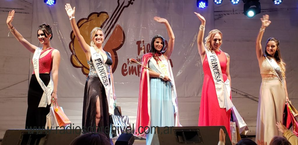 Agustina García de Chacabuco fue electa Reina de la 18º Fiesta provincial de la Empanada de O´Higgins