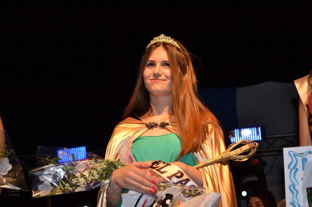 Mara Saldivia, de San Andrés de Giles, Reina de la 20º Fiesta Nacional del Pastel de Gouin.