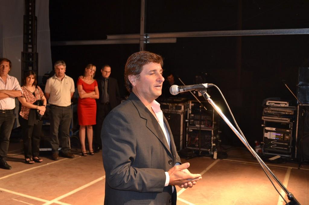 Gustavo Millán, presidente de la comisión organizadora.