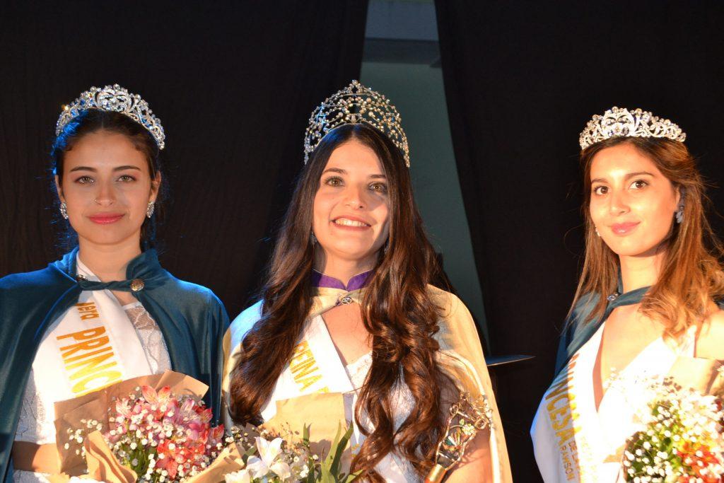 Micaela Ventoza, fue elegida Reina de la  XXXVI Fiesta provincial de la Primavera en Rawson
