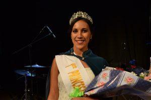 1º Princesa, Danila del Campo, 22 años de edad, que representaba al Club Defensores de Rawson