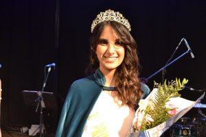 2º Princesa, Tania Lemme, de 20 años, representando al Hogar de Ancianos de Rawson