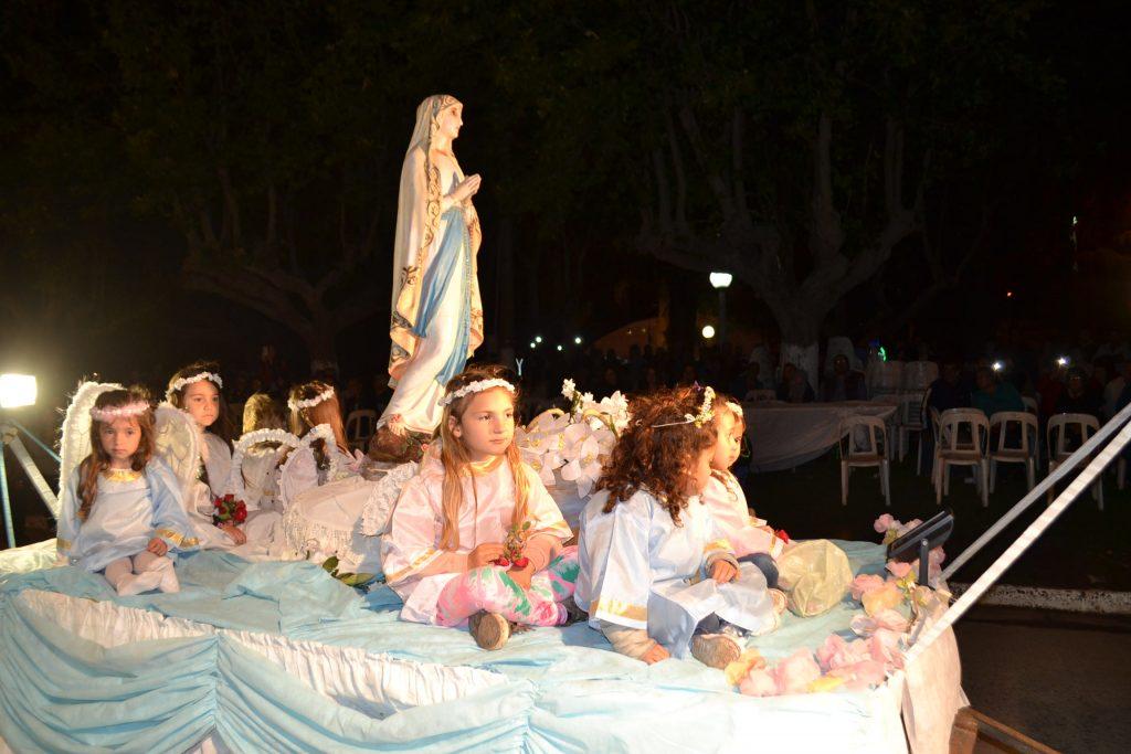 Carroza de la Iglesia Inmaculada Concepción de Rawson