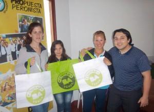 """Campaña """"Una ciudad más verde, es una ciudad más sana"""" en Chacabuco."""