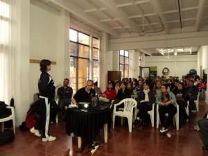 """Jornada de """"Actividad Física, Deporte y Desarrollo Humano"""" en Chacabuco."""