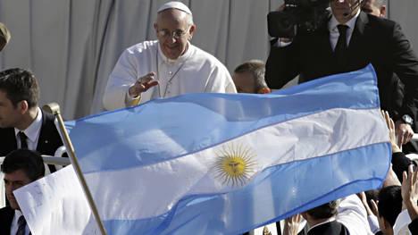 El Papa argentino en el día de su asunción.