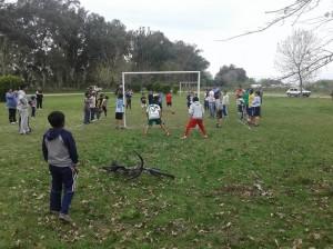 Fútbol en Cucha.