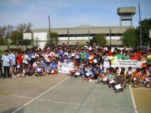 Fútbol recreativo Infanti en Chacabuco.