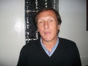 Presidente del HCD de Chacabuco, Claudio Geloso.