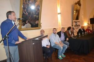 Golía en acto organizado por Radicales que no votan a Macri