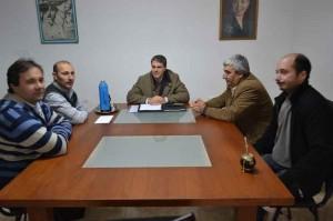 El legislador provincial Dr. Rubén Darío Golía estuvo reunido con integrantes de la Asociación Judicial Bonaerense departamento Junín La Plata.