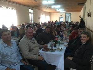 Golía en almuerzo con empleados municipales e Instituciones Locales