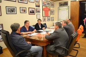 El Diputado Provincial mantuvo un encuentro con el Ministro Collia