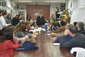 Reunión con coordinadores en la Casa Peronista