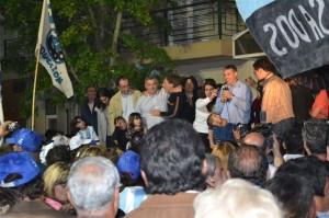 olía es legislador electo en la provincia de Buenos Aires con más del 50 por ciento de los votos.