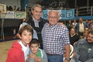 Golía junto a Mario Omar Guilloti.