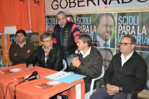 Conferencia de prensa de Golía y Fabián Sánchez