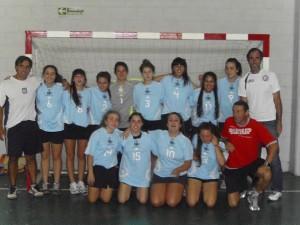 Encuentro de Handball.